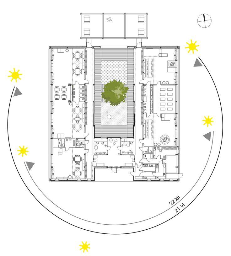 SOLUÇÃO ELEGANTE PARA CARTA SOLAR DO EDIFÍCIO <3 Galeria de Jardim de Infância Elefante Amarelo / xystudio - 26