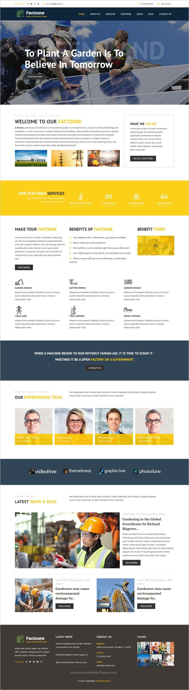 FactZone is a professional 4in1 #bootstrap template for your industry, company or #factory #website download now➩ https://themeforest.net/item/factzone-factory-industrial-business-template/18757837?ref=Datasata