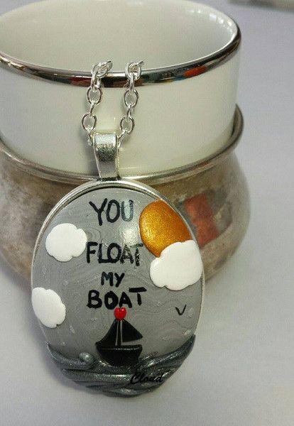 """""""You float my boat"""" di Cloud Jewelry su DaWanda.com"""