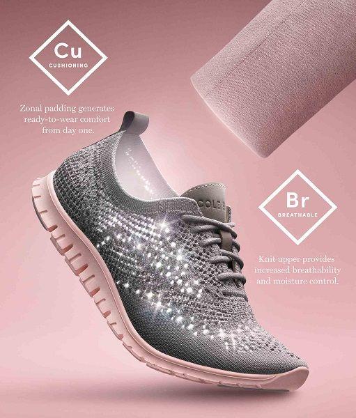 4b02382dab5b6 Shop Cole Haan Women's ZEROGRAND Stitchlite Sneaker Ironstone ...