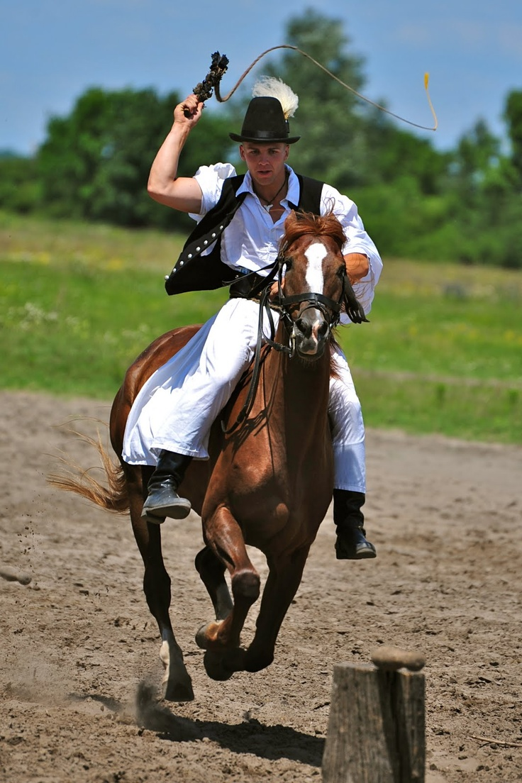 Horse riding is an important part of Hungarian culture