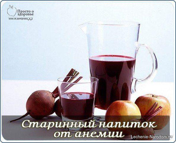 Фруктово-овощная смесь при анемии / Популярная медицина