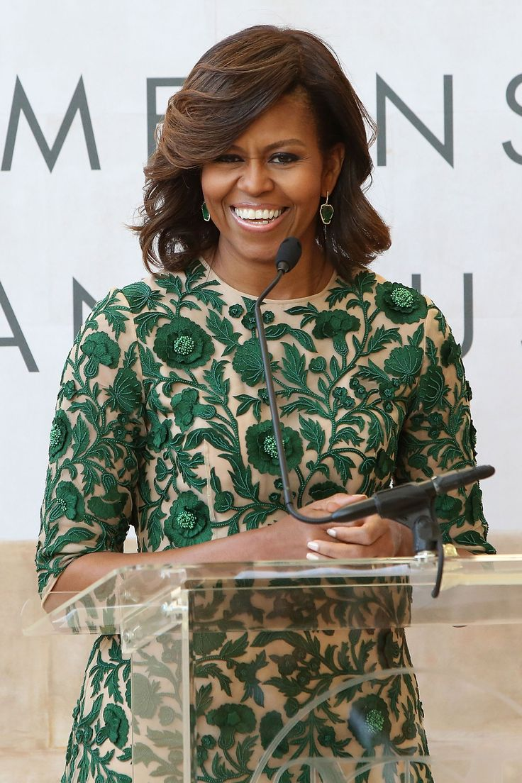 Michelle Obama Just Wore Her Trendiest Look Yet Metropolitan Museum Museum Of Art And The O 39 Jays