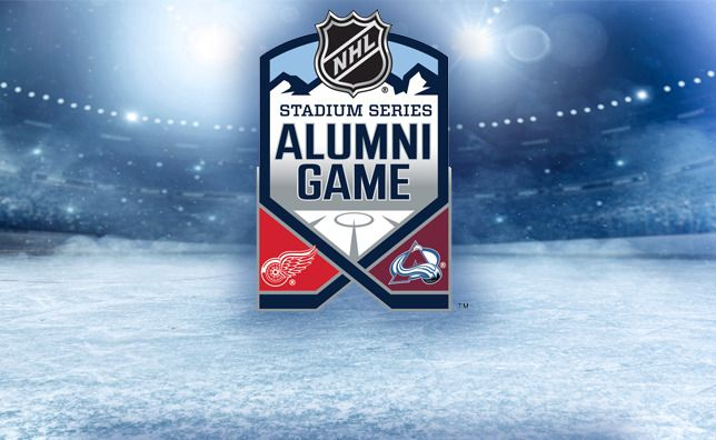 Colorado Avalanche vs Detroit Red Wings alumni game rosters