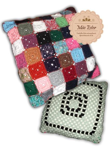 Pillow - crochet