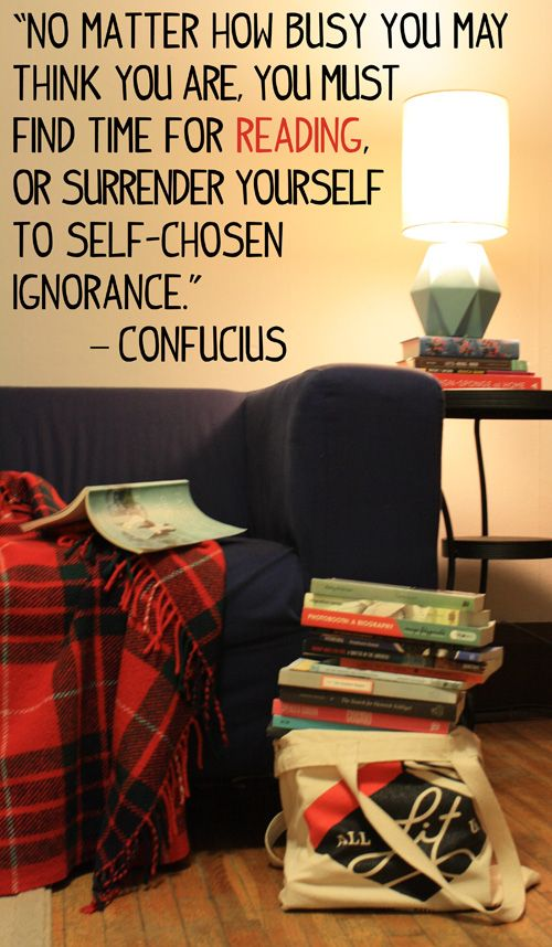 Quoted: Listen to Confucius (All Lit Up, Feb 2, 2015). Get the most of your reading time by trying short stories or novellas!