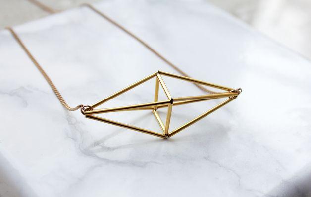 Pendelketten - HIMMELI NO. 4 gold - Halskette - ein Designerstück von almost-done bei DaWanda