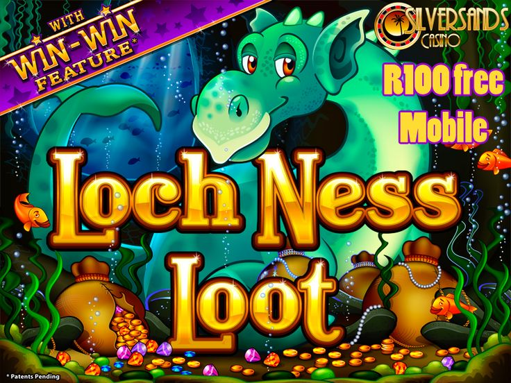 NEW MOBILE SLOT GAME AT #SILVERSANDSMOBILECASINO – GET R100 FREE  The Loch Ness Loot slot has now been made available to #SouthAfricanCasino players on the mobile platform at Silver Sands Casino. #ZARCasino players using any mobile device which can support the Google Chrome web browser can now get R100 Free to try this game!   Play Now : https://www.playcasino.co.za/goto/silver-sands-casino.html