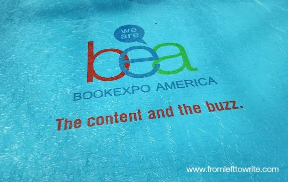 Tips for Book Expo America Attendees-From Left to Write #BEA