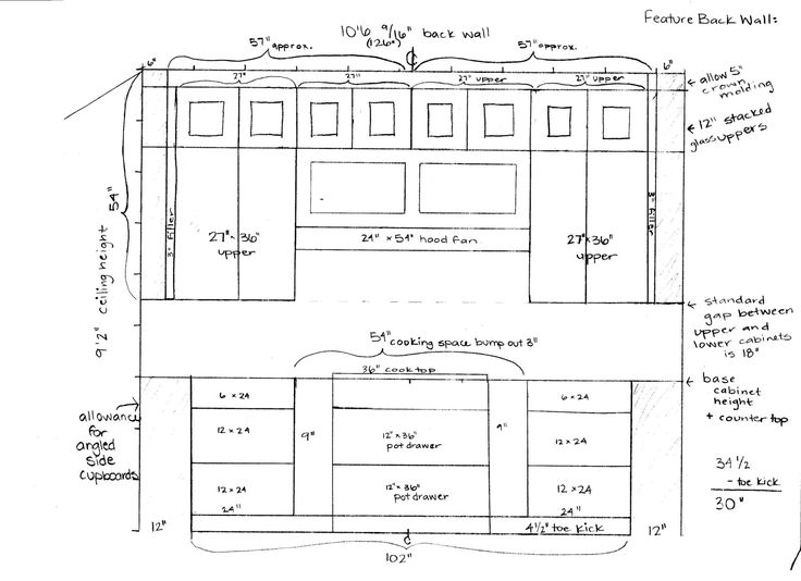 Awesome Standard Kitchen Cabinet Sizes Ideas