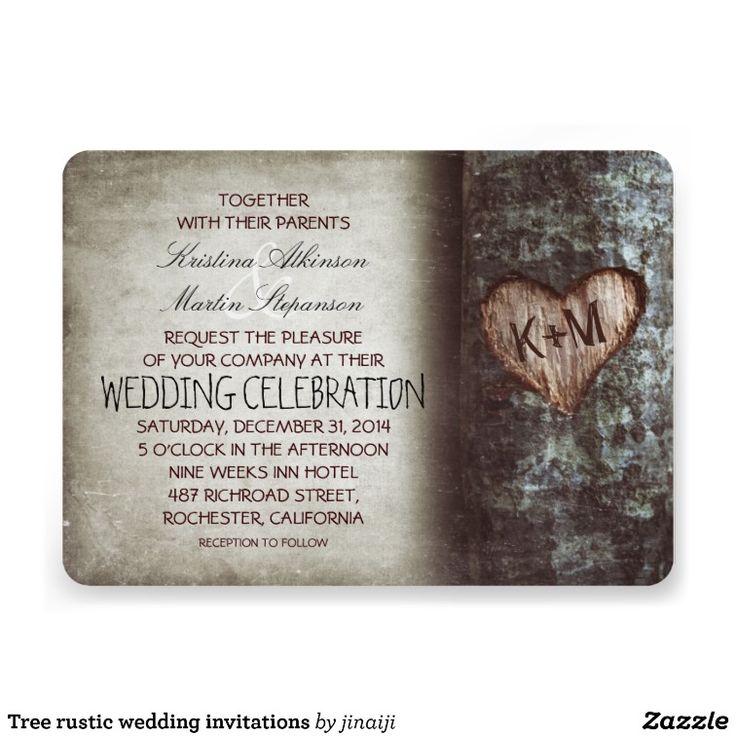 Tree rustic wedding invitations 43 best Camo