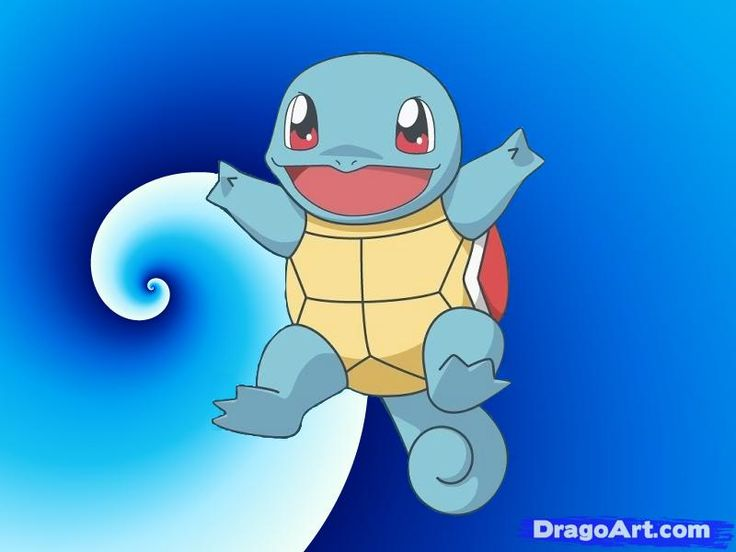 How to Draw Squirtle From Pokemon, Step by Step, Pokemon ...