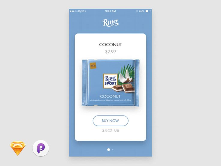 Ritter App - Sketch & Principle Freebie