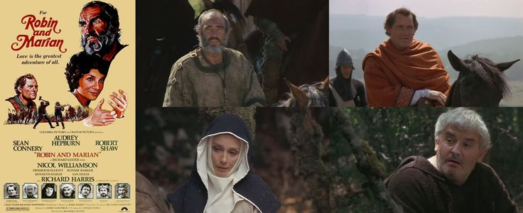Robin and Marian (1976) 20 years of the Crusades has left Robin a battered man but on returning to Sherwood Forest he not only tries to rekindle his romance with Marian but locks swords with his old foe the Sheriff of Nottingham