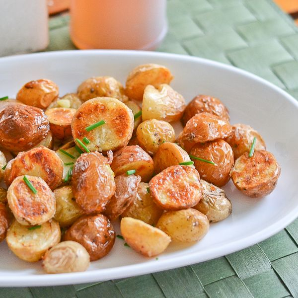 These salt and vinegar roasted potatoes dish is a perfect side dish ...