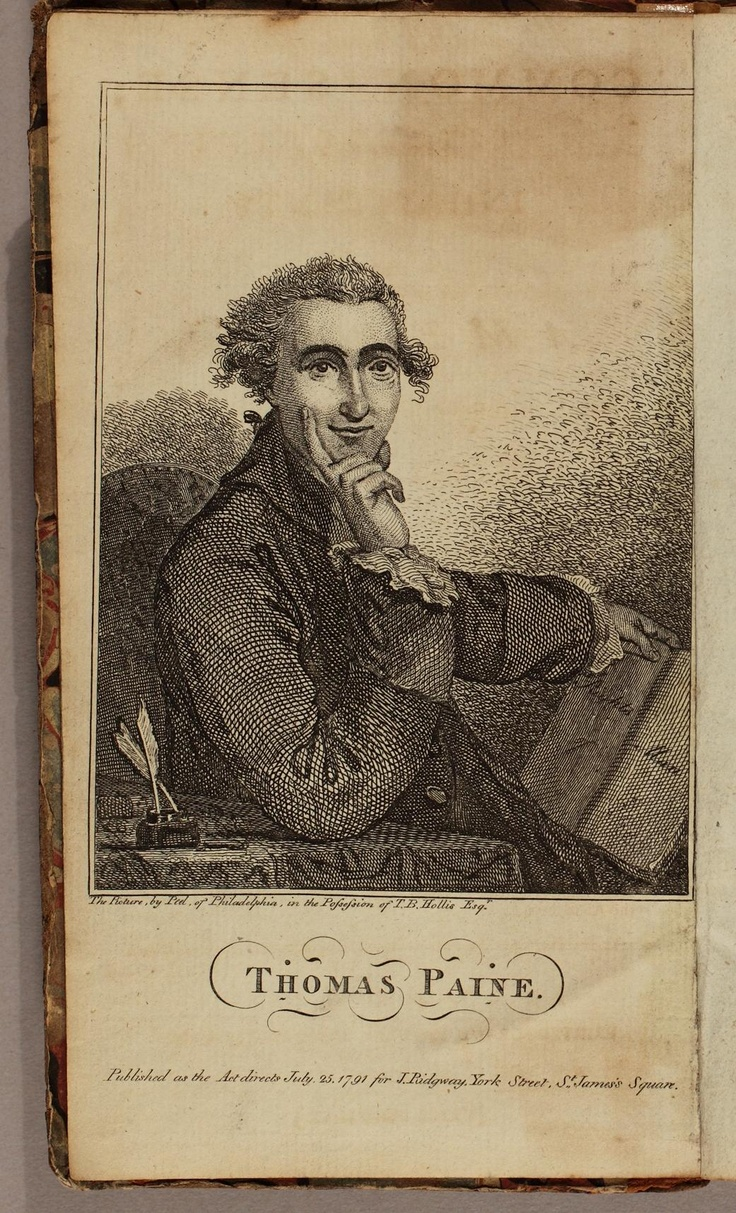 thomas paine the father of revolution essay