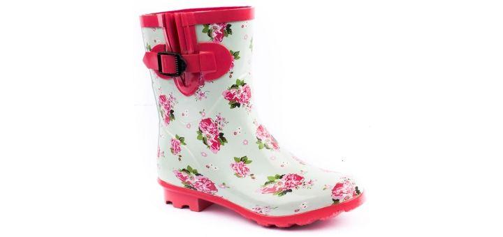 Brantano Ditsy Floral Wellington Boot, £22.00