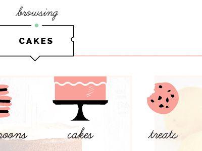 Bakery Website by Joanna Waterfall