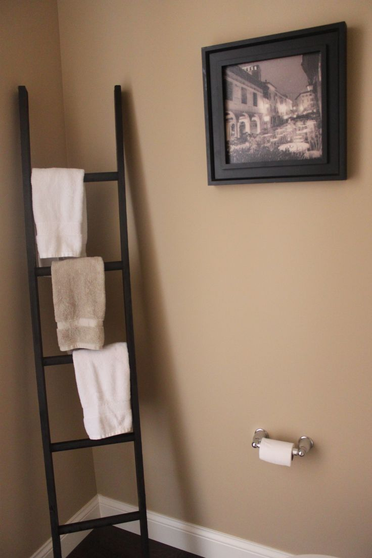 Upon Moving Into This House, We Discovered That None Of The Bathrooms Had  Towel Racks