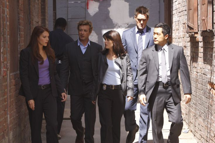 The Mentalist. The whole gang