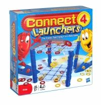 Hasbro Connect 4 Launchers 4 In A Row Game Launch it to win! Grab you launcher and send your checkers zooming through the air with three fast-flying checker challenges. Basic Frantic Launch challenges you to be the first to land four-in-a-row.
