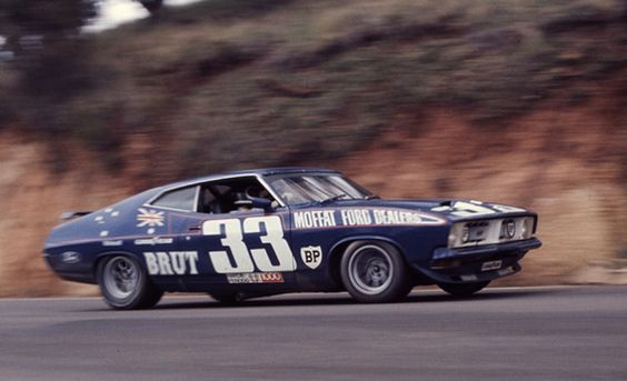 Allan Moffat's Ford XB Falcon GT Coupe at the 1974 Hardie-Ferodo 1000, Bathurst, Australia