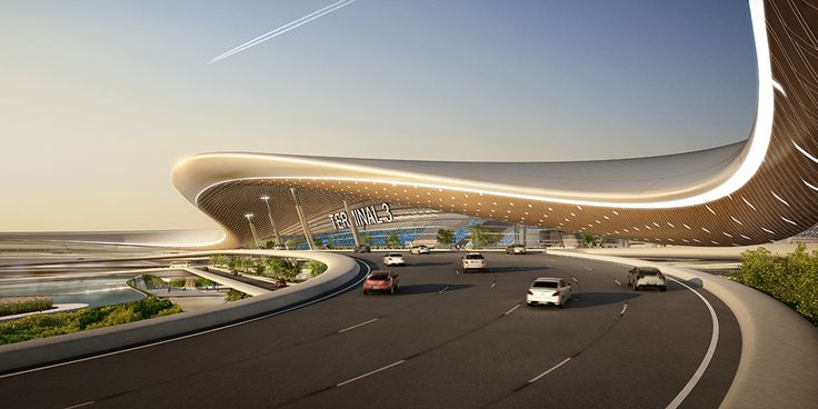 Gallery - UNStudio Proposes User-Centric Design for the Taiwan Taoyuan International Airport - 3