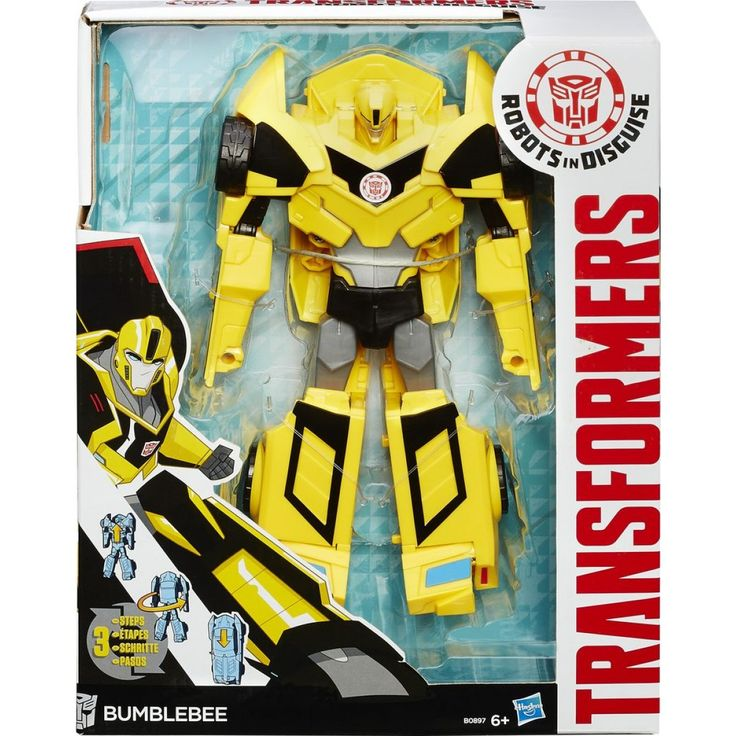 Transformers: Robots in Disguise 3-Step Changers Figure Collection  R549