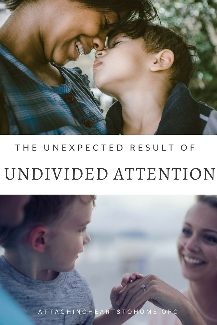 The Unexpected Result of Undivided Attention