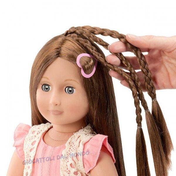 Bambola in vinile con capelli che crescono da acconciare. #OGDolls solo su http://www.giocattolidalmondo.it/articoli/1075/parker-bambola-oug-dolls-con-capelli-lunghissimi-da-pettinare.htm