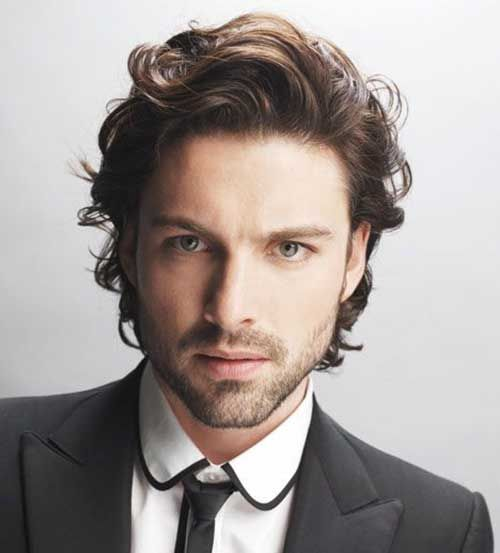 Short Wavy Hairstyles Men