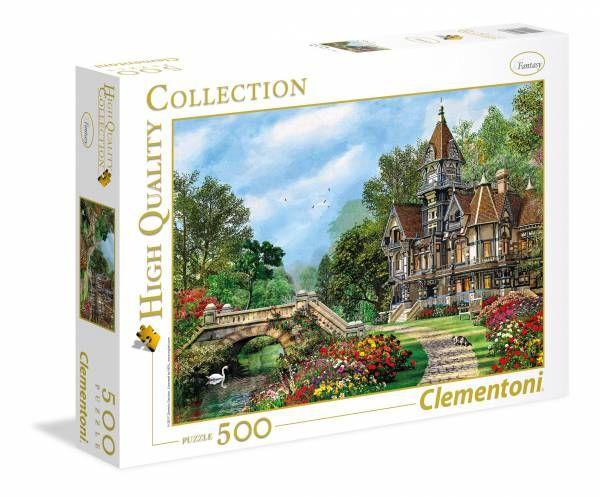 Puzzle novedad de 2018 de la marca Clementoni - 500 piezas - Casa Cotage  Encuéntralo en Puzzlemania.net
