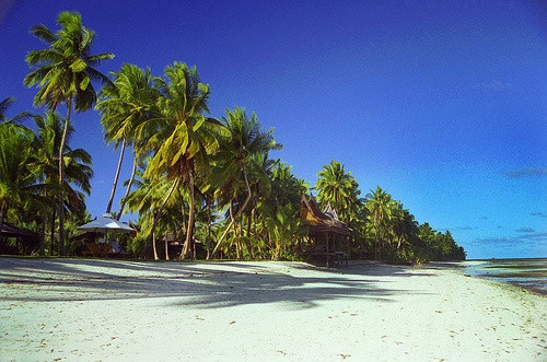 General Luna Beach on Siargao Island near Surigao City in the Philippines... great place to surf!