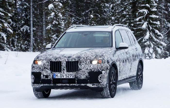 2019 BMW X7 overview