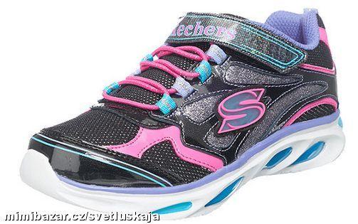 SKECHERS blinkers blikající boty