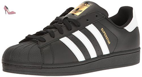 Adidas Superstar Foundation Black White Mens Trainers - Chaussures adidas (*Partner-Link)