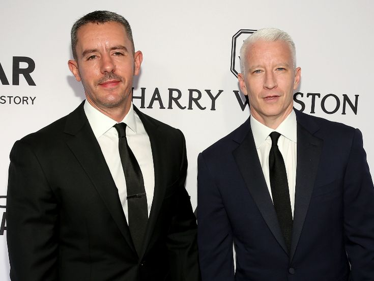 Best-Dressed Men of the Week: Anderson Cooper and Benjamin Maisani