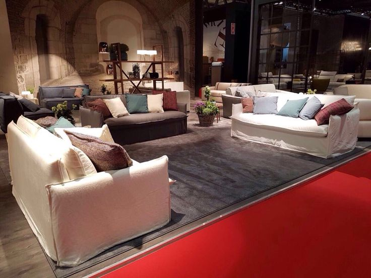 Clarke, the news sofa and sofa bed by Milano Bedding - Here at Salone del Mobile.Milano