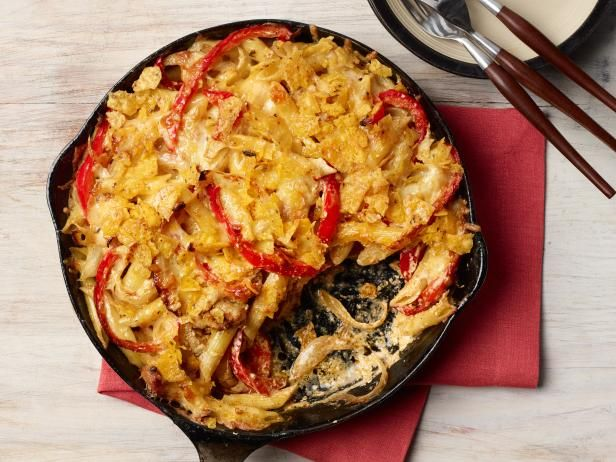 Chicken Fajita Pasta Recipe | Food Network Kitchen | Food Network