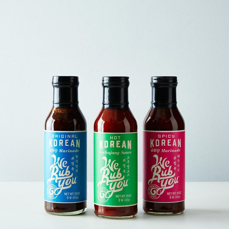 Korean BBQ Marinade Variety Pack on Food52
