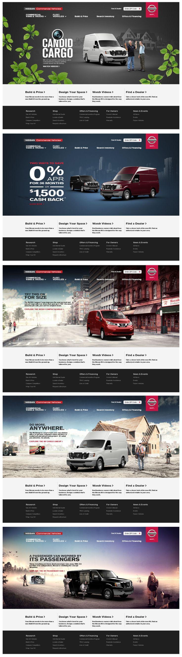 Nissan Commercial Vehicles  http://www.nissancommercialvehicles.com/