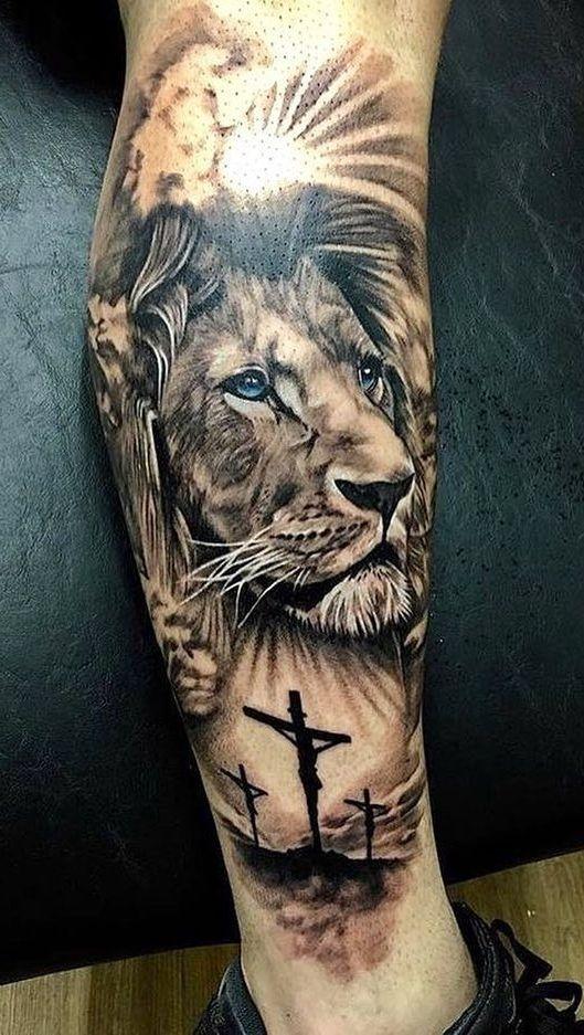 Tatuagem Leão, Tatuagem Leão De Juda