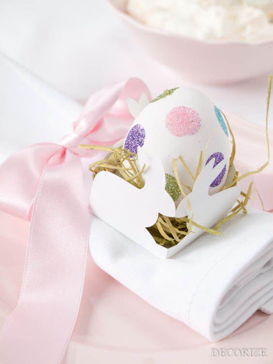 Wunderschöne Oster-Deko mit tollen DIY Ideen und Printables! Frohe Ostern!