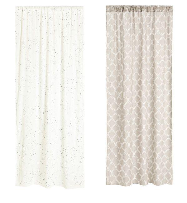 10 cute Christmas curtains on a budget