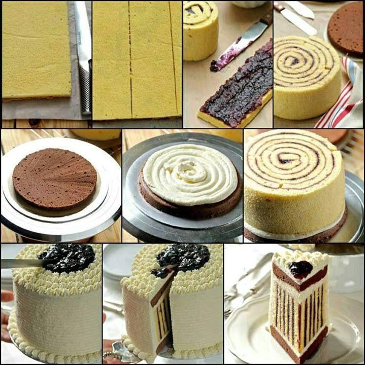 Stribede kage