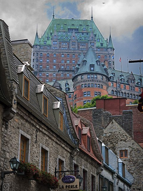 I ADORE Quebec!! This is where generations of my family have been from. Such a beautiful place, I'm happy I was able to visit in middle school. One of the best weeks ever.