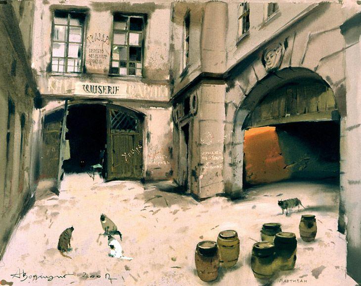 Alex Votsmush - watercolor
