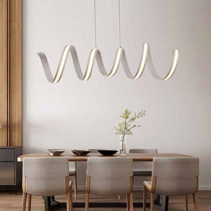 L600/900/1200mm Modern aluminum LED Chandeliers light for dinning room bar study room hanging chandelier lamp 85-265V lampadario