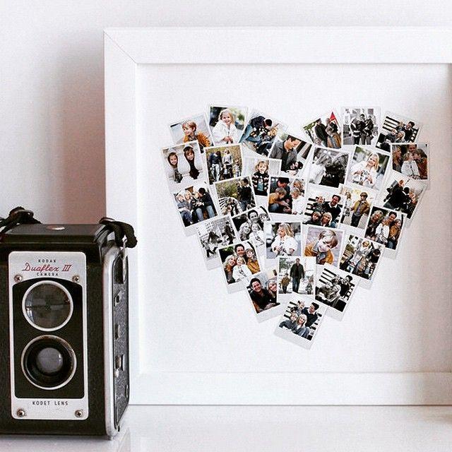 Die besten 25 herzf rmige fotocollage ideen auf pinterest for Ideen fa r fotocollage