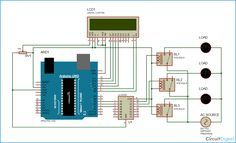 Arduino Home Automation Circuit Diagram
